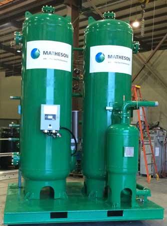 Nitrogen Generator for Grain Blanketing
