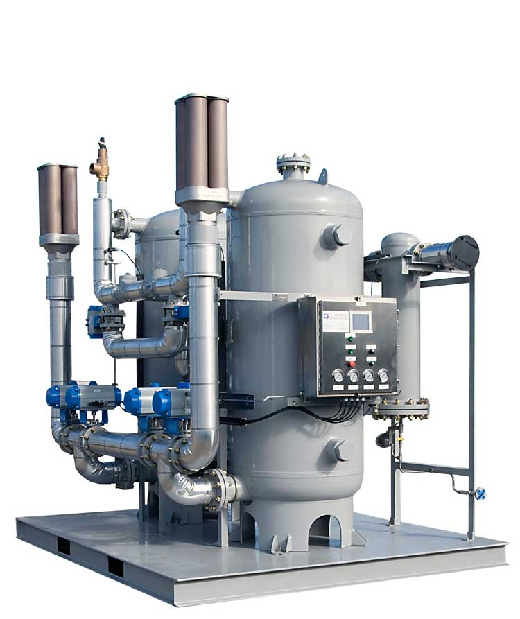 Twin Tower Desiccant Dryer