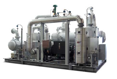 Two Stage Roots Blower Package for Ineos Olefins & Polymers USA