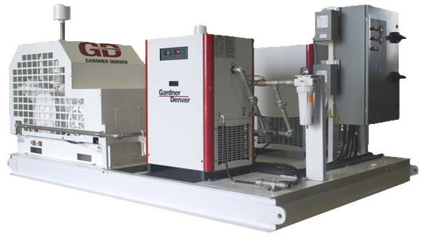 Medical Air Compressor Package for Island Energy