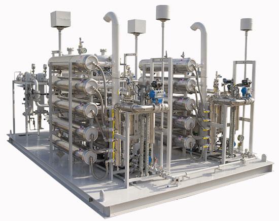 Integrated Skidded Nitrogen Membrane System