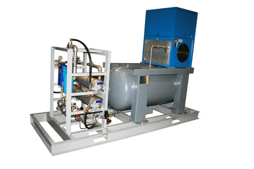 Industrial Instrument Air Package utilizing Membrane Dryers