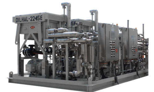 Offshore Instrument Air Package utilizing Membrane Dryers