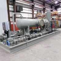 High Pressure Gas Separation Package / 1,440 PSI @400°F / ASME Certified / Package fully assembled in-house.