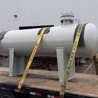 "High Pressure Steam Drum / 30"" x 120"" S-S / 2,500 PSI @600°F / ASME Certified / Ring Type Joint Flanges and High Thickness at 3-1/2"""
