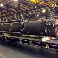 "Mud Separator / 48"" x 360"" S-S / 200 PSI @300°F / ASME Certified / Lethal Service rated"