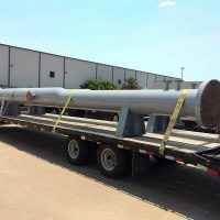 "Pig Launcher and Receiver / 36"" x 24"" barrels and 20' length / 650 PSI @200°F / ASME Certified / Features Quick Closure Openings"