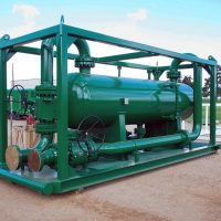 "Skid Mounted Slug Catcher / 48"" x 180"" S-S / 1,440 PSI @300°F / ASME Certified / Post Weld Heat Treatment"