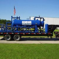 Trailer Mounted Gas Separator Packages / 1,330 PSIG @130°F / ASME Certified / Fully assembled in-shop