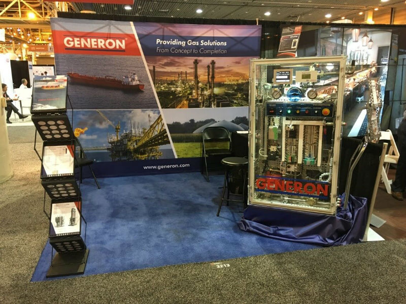 Generon displays at Work Boat