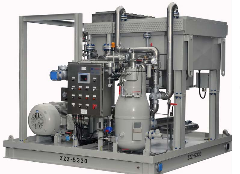 Oil-Flooded Rotary Screw Compressor Package