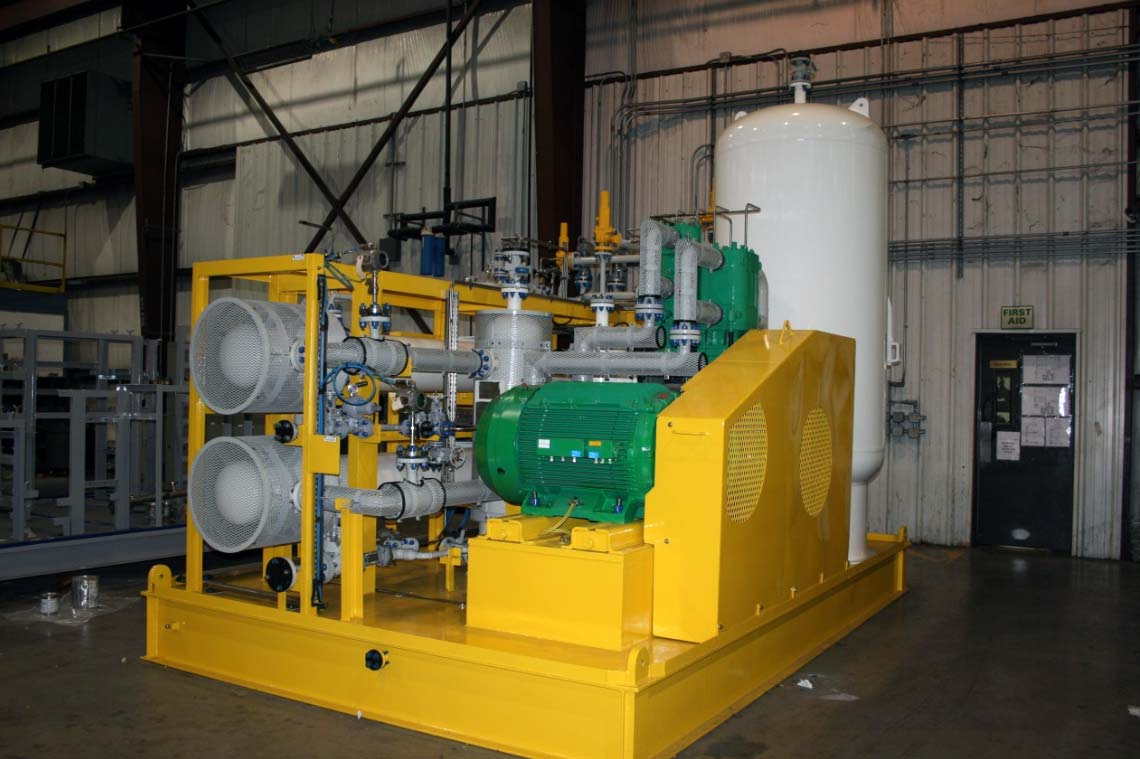 Oil-Free High Pressure Booster Compressor Package