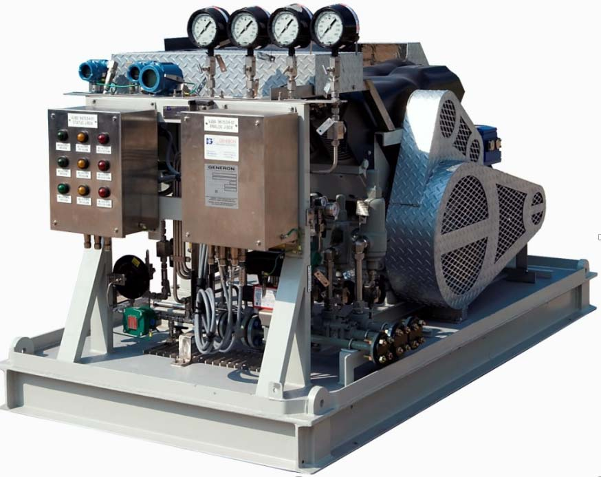 Oil-Free High Pressure Nitrogen Booster Compressor Package