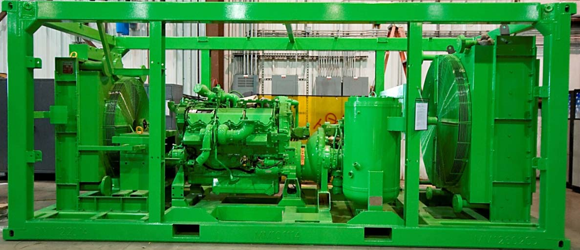 Oil-Free Rotary Screw Compressor Package